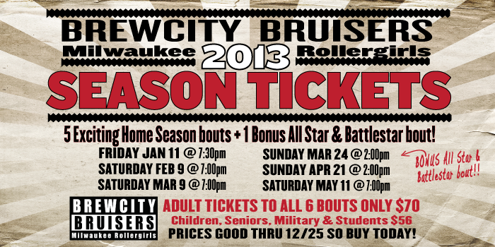 2013 BCB Season Ticket Special