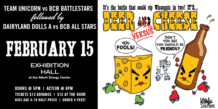 Away Bout: All Star vs Dairyland Dolls & Battlestars vs Team Unicorn